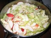 Cottage Cabbage Apple Slaw