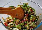 Cabbage Pepper And Onion Salad