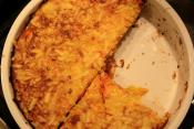 Cauliflower And Carrot Quiche
