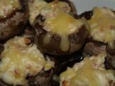 Cheese 'n' Bacon-stuffed Mushrooms