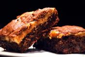 Cheese Marbled Brownies