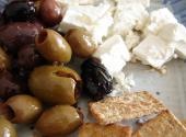 Cheese-olive Snack
