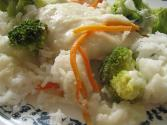 Baked Rice Cheese And Vegetable Casserole