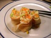 Cheese And Vegetable Roll