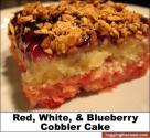Cherry Blueberry Cobbler Supreme