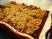 Easy Cherry Crisp