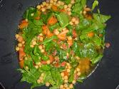 Chick Peas With Sun Dried Tomatoes