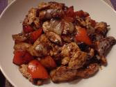 Chicken In Black Bean Sauce With Mushrooms