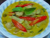 Chicken In  Red Curry Sauce