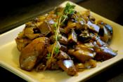 Chicken Livers And Mushrooms