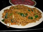 Sweet And Spicy Chicken Lo Mein