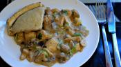 Chicken Mushroom Pot Pie 