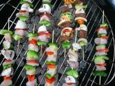 Chicken And Orange Kebabs