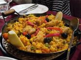 Chicken Paella With Crabmeat