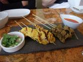 Miniature Pork Or Chicken Satay