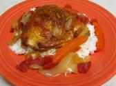 Chicken And Rice Paprikash