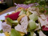 Low Fat Chicken Taco Salad
