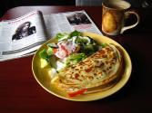 Chicken And Vegetable Crepes