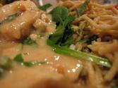 White Cut Chicken With Spicy Peanut Sauce