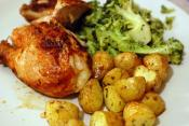 Chicken With Potatoes And Rosemary