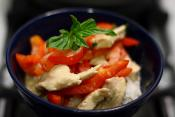 Chicken With Sweet Peppers