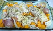 Chicken With Sweet Potatoes