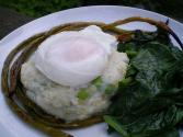 Chile Poached Eggs