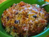Chilies And Cheese Rice