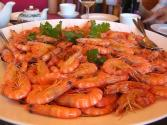 Chinese Prawns  Shrimp  With Vegetables