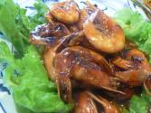 Chinese Shrimp With Chinese Pea Pods