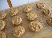 Liqueur Flavored Chocolate Chip Oatmeal Cookies