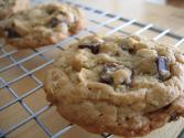 Eggless Chocolate Chuck Cookies