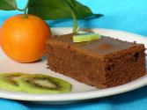 Chocolate Gateau With Cointreau