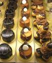 Chocolate Liqueur Puffs