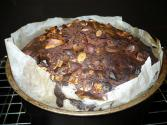 Chocolate Applesauce Nut Cake
