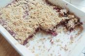 Chocolate Streusel Bars