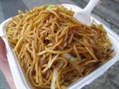 Meat And Bean Sprouts Chow Mein