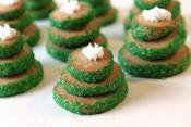 Spicy Christmas Tree Cookies
