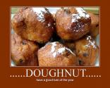 Cinnamon Raisin Doughnuts