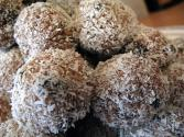 Coconut-fruit Balls