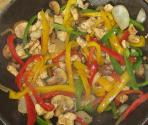 Colorful Pepper Chicken