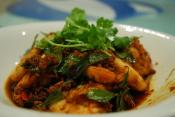 Coriander Curry Shrimp
