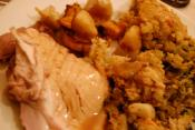 Albuquerque Corn Bread Stuffing