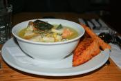 Corn And Fish Chowder