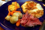 Corned Beef Macaroni Pie