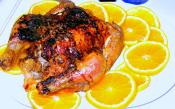 Cornish Hens With Orange Honey Sauce