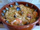 Swiss-crab Casserole