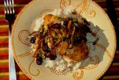 Barbecued Cranberry Chicken