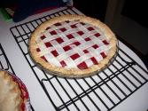 Cranberry Lattice Pie