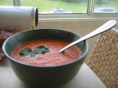 Cream Of Tomato Soup With Croutons